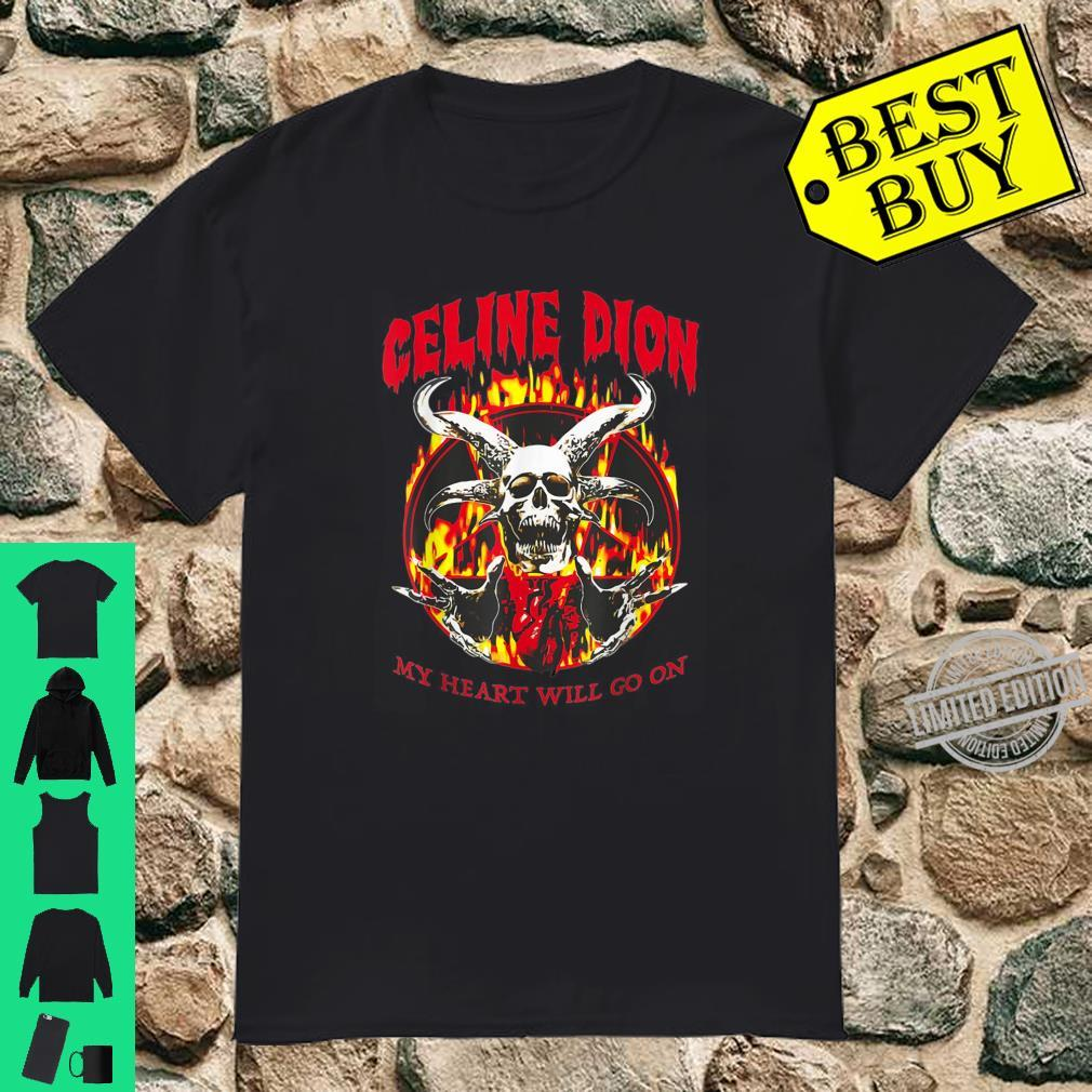 Retro Celine Dion Legends Live Forever Musician Shirt